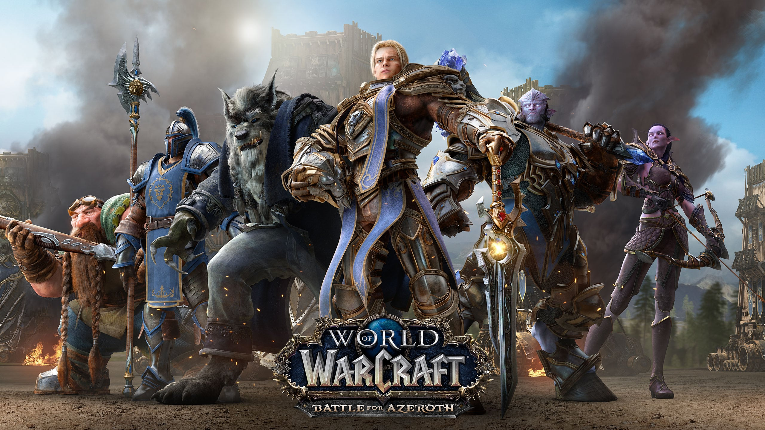 بازی world of warcraft battle for azeroth