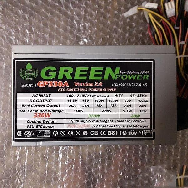 gp330a green پاور کامپیوتر