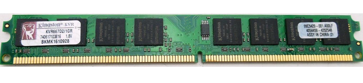 رم DDR2 1GB باس 800 کینگستون