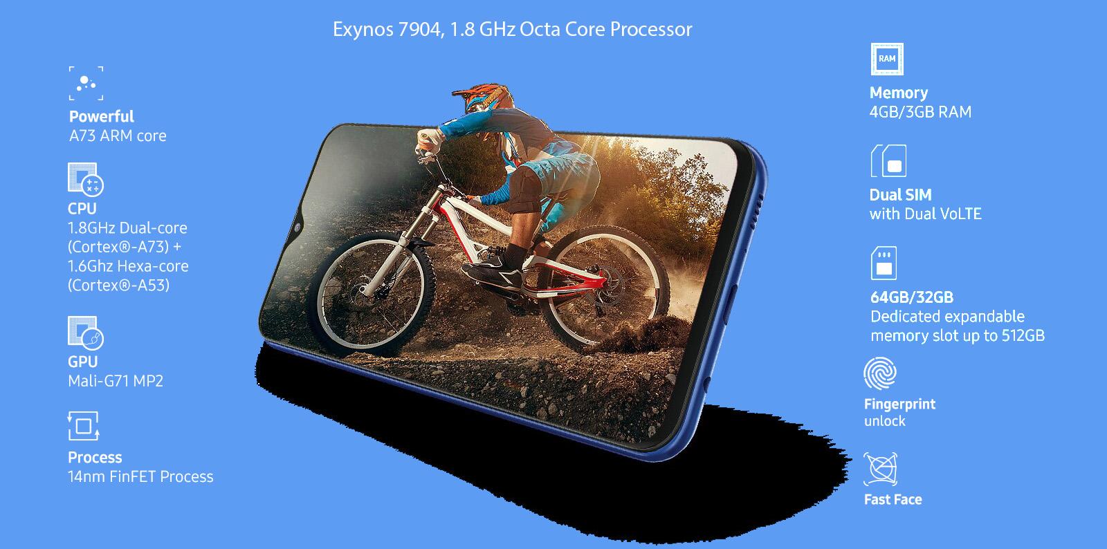 سخت افزار و نرم افزارسامسونگ گلکسی Galaxy M20 32gb