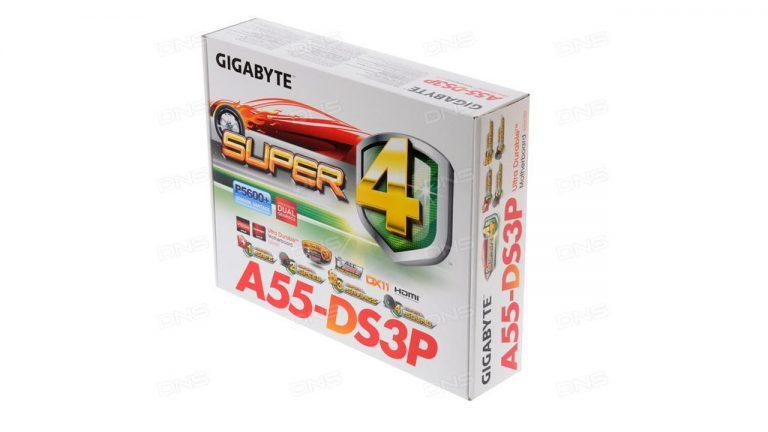 مادربرد گیگابایت GA-A55-DS3P