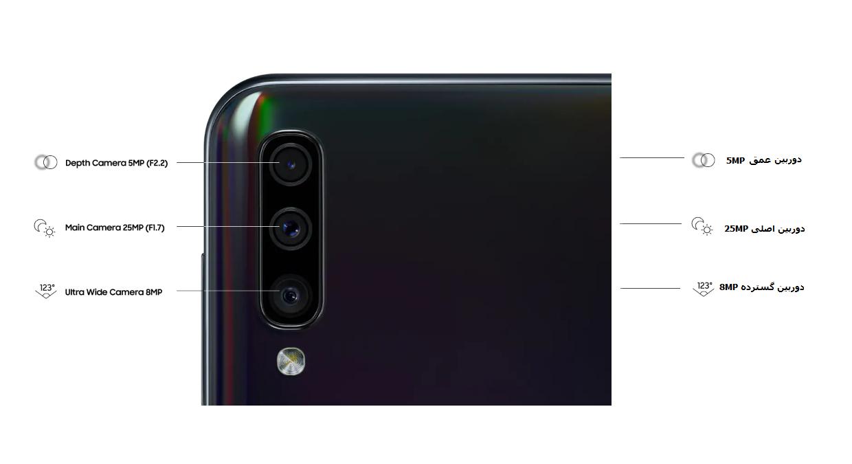 گوشی موبایل Galaxy A50 128GB
