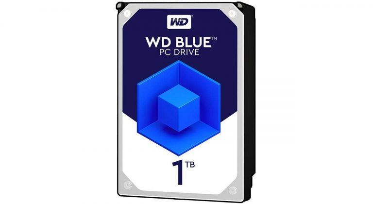 هارد دیسک 1 ترابایتی وسترن دیجیتال WD Blue 1TB WD10EZEX