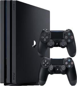 کنسول بازی پلی استیشن ۴ پرو دودسته ظرفیت 1 ترابایت PS4 Pro