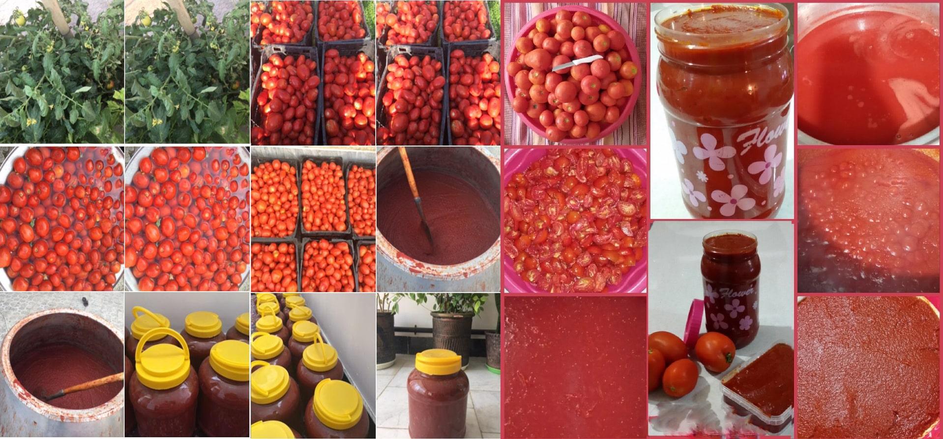 رب گوجه فرنگی سنتی و خانگی ظرفیت 4 کیلو گرمی
