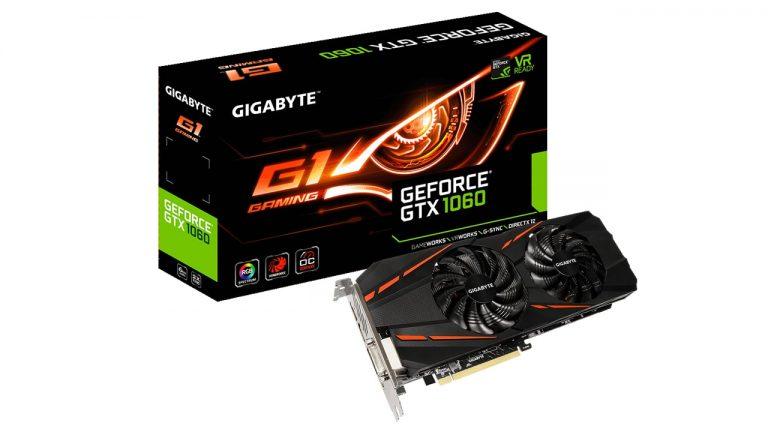 کارت گرافیک گیمینگ GeForce GTX 1060 G1 Gaming 6G