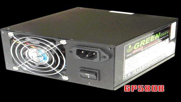 پاور کامپیوتر گرین power supply GREEN GP580B