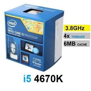 پردازنده Intel Core i5-4670k LGA 1150