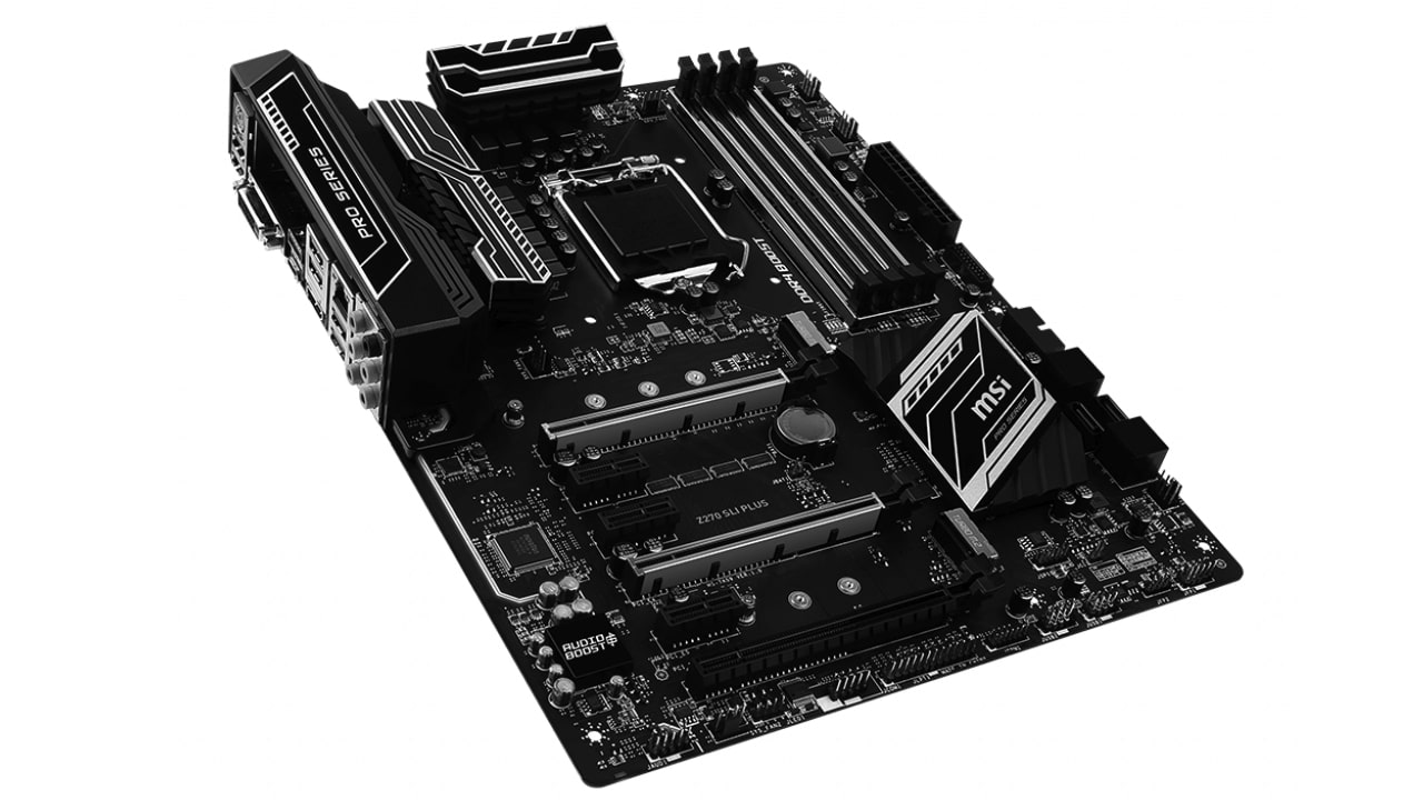 مادربرد ام اس ای پلاس motherboard z270 sli plus ddr4