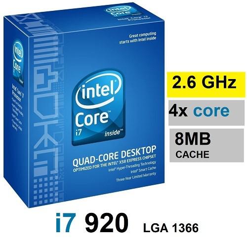 پردازنده اینتل core i7 920 LGA1366