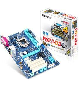 مادربرد گیگابایت gigabyte ga-p61a-d3 lga 1155