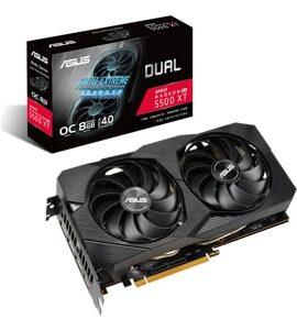 کارت گرافیک ایسوس ASUS Dual Radeon RX 5500 XT 8GB