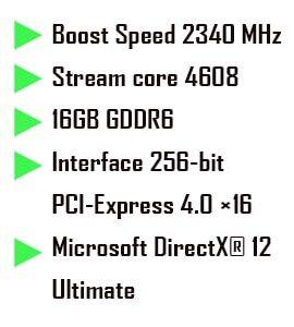 کارت گرافیک ASUS TUF GAMING RX 6800 XT 16GB