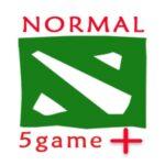 افزایش بازی عادی normal match DOTA +5game