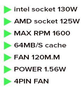 خنک کننده بادی دیپ کول مدل deepcool gammaxx 300
