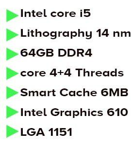 پردازنده اینتل sky lake مدل Intel Core i5-6600