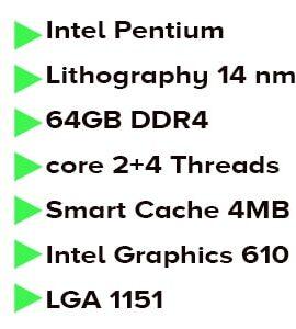 پردازنده اینتل Coffee Lake مدل Intel Pentium Gold G5400