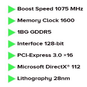 کارت گرافیک ایسوس ASUS HD 7790 directcu ii OC 1GB