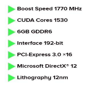 کارت گرافیک پلیت Palit GeForce GTX 1660 Ti Dual