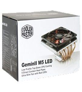 خنک کننده بادی کولر مستر مدل cooler master geminii m5